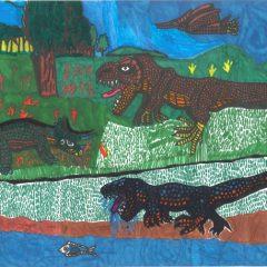 第11回 図画作品コンクール『恐竜を描こう』作品募集